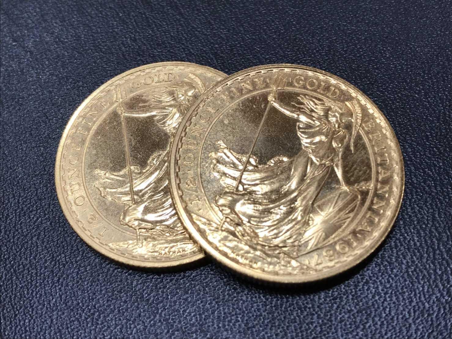 金買取 ブリタニア金貨