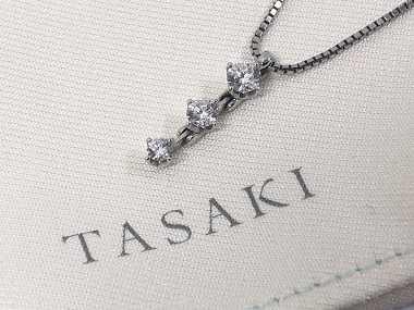 タサキ買取 トリロジーネックレス