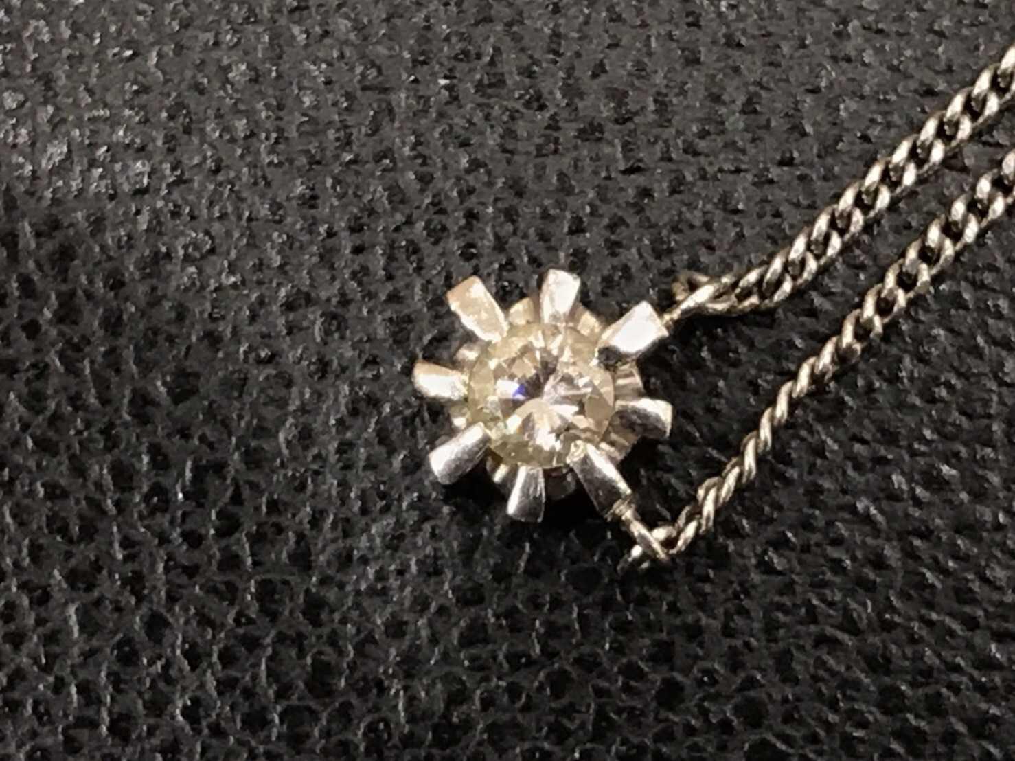 ダイヤモンド買取 プラチナネックレス