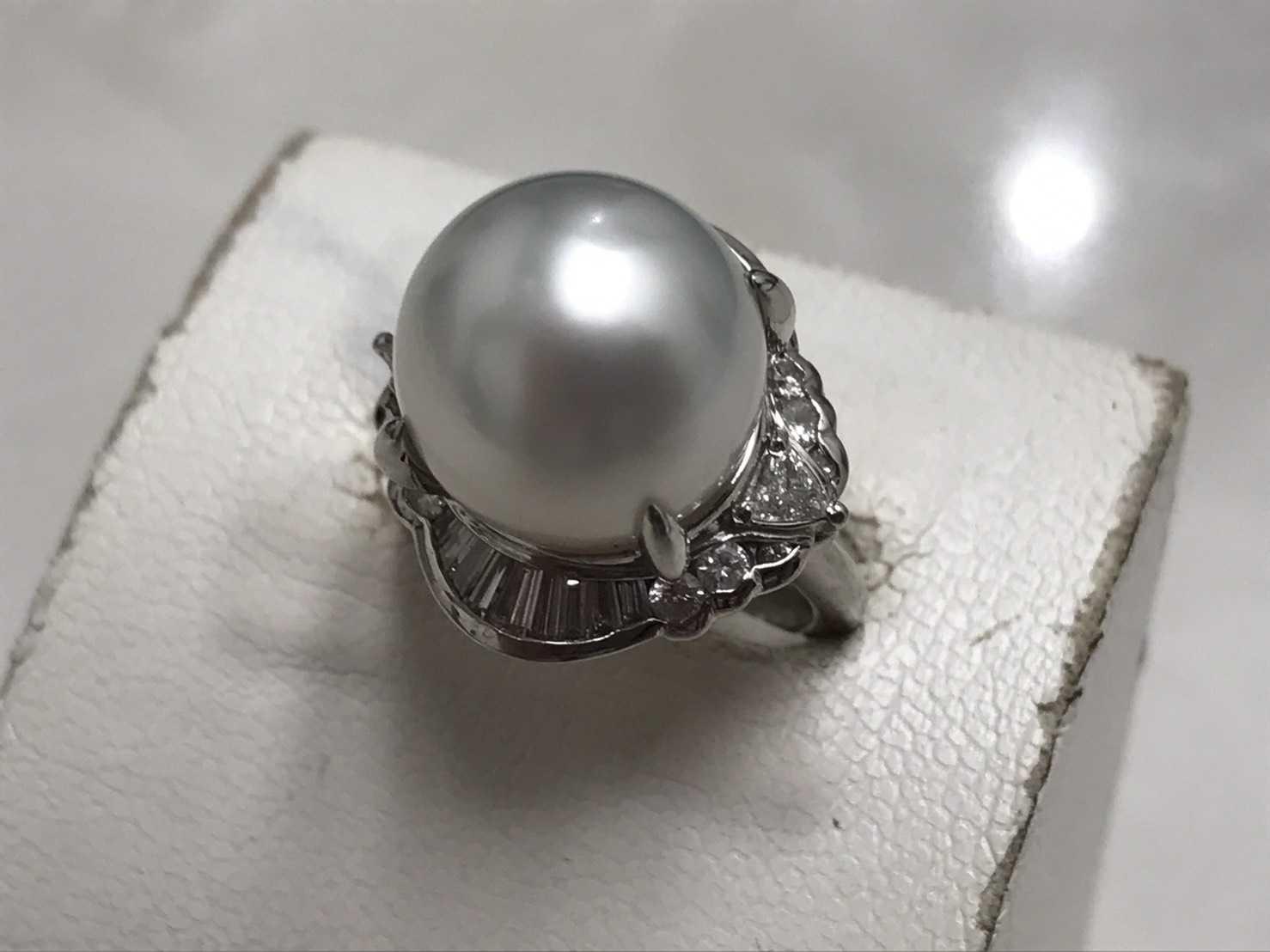 宝石買取 真珠指輪