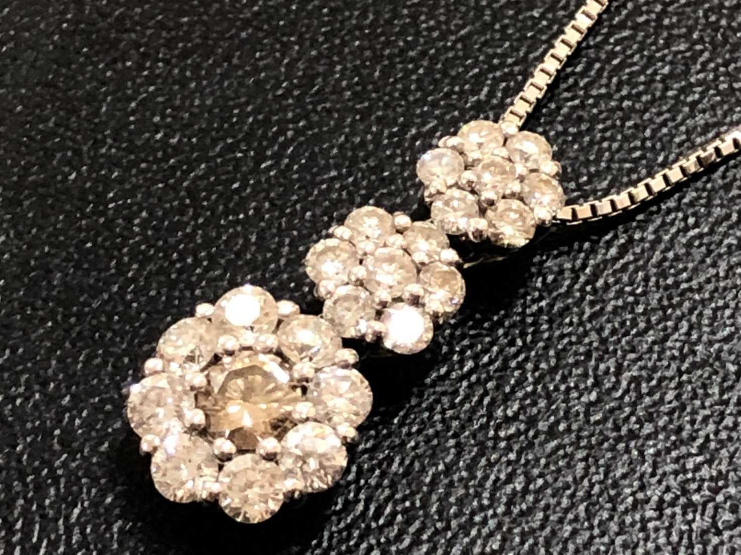 宝石買取 ダイヤモンドネックレス