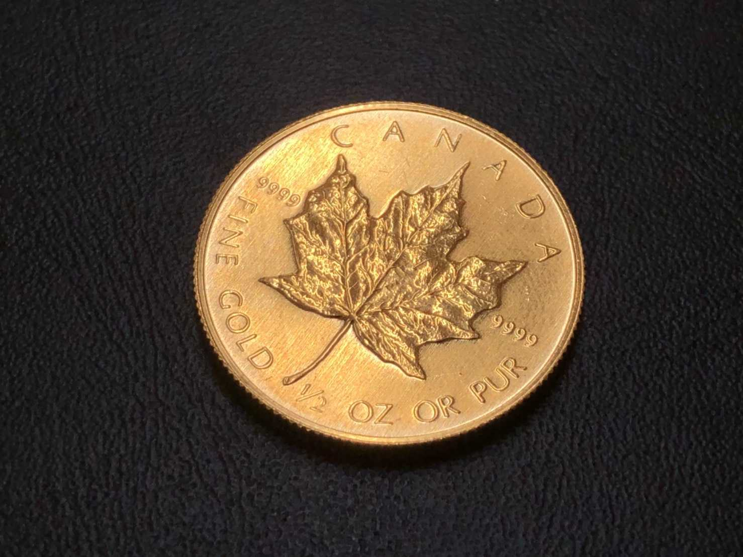 金買取 カナダ金貨