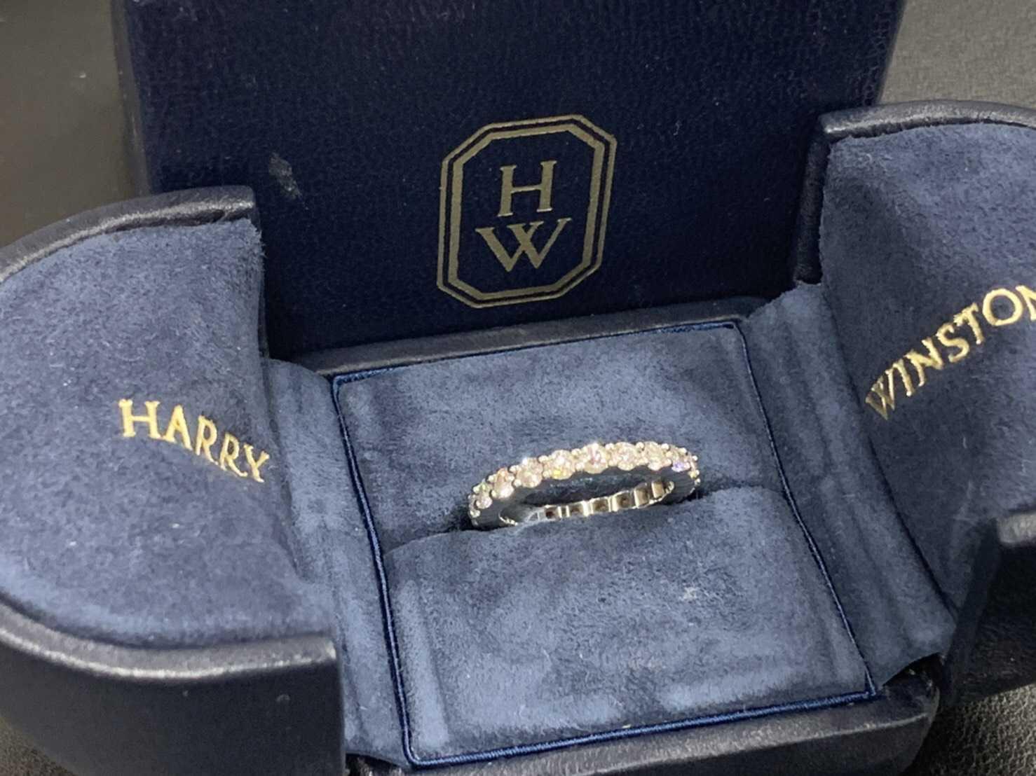 ハリーウィンストン買取 ダイヤリング