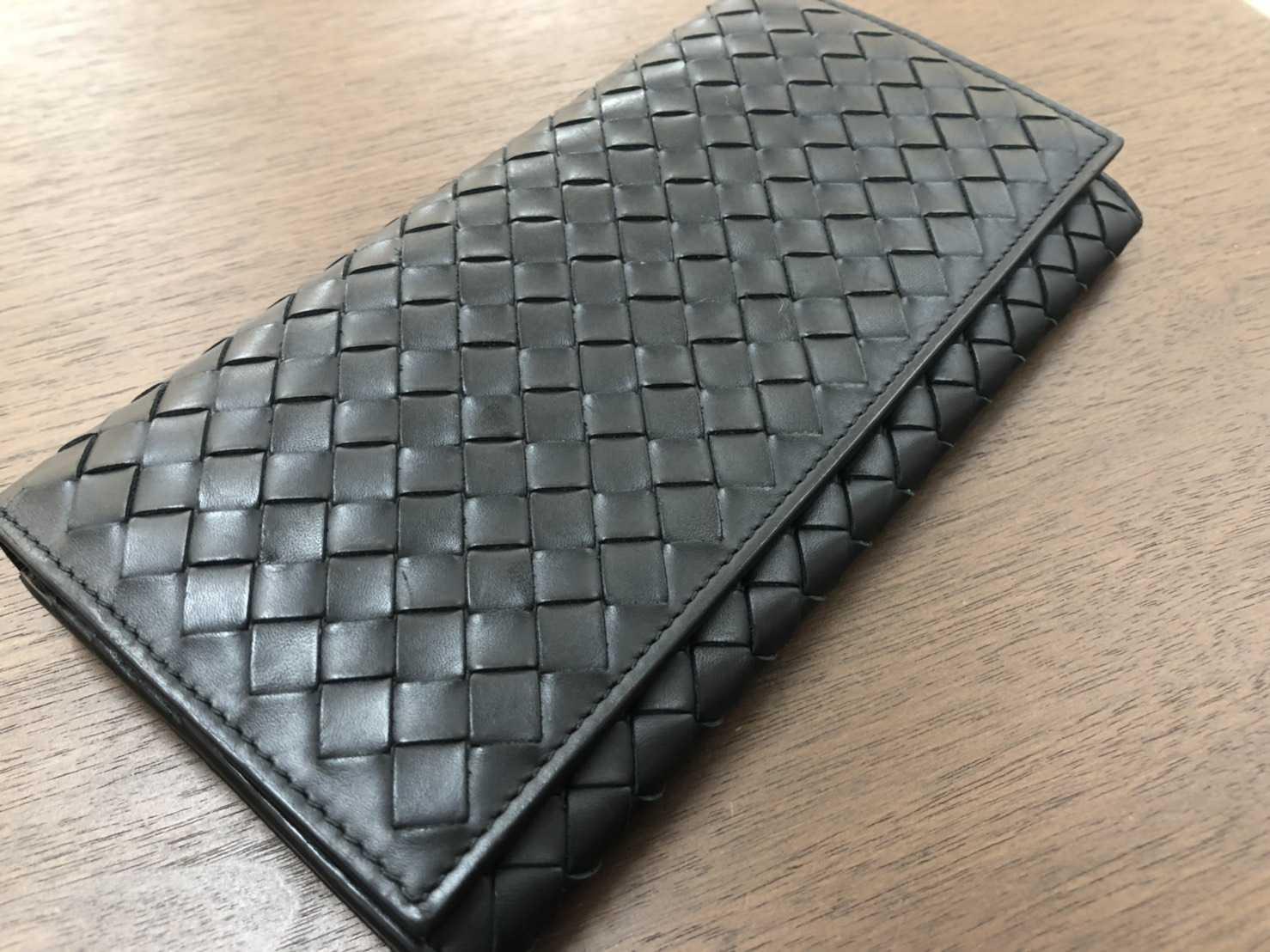 ボッテガヴェネタ買取 二つ折り財布