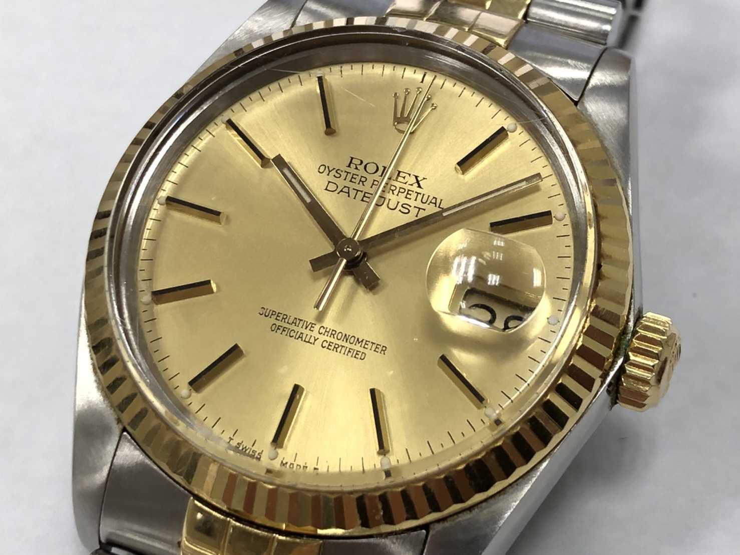 ロレックス買取 デイトジャスト 時計