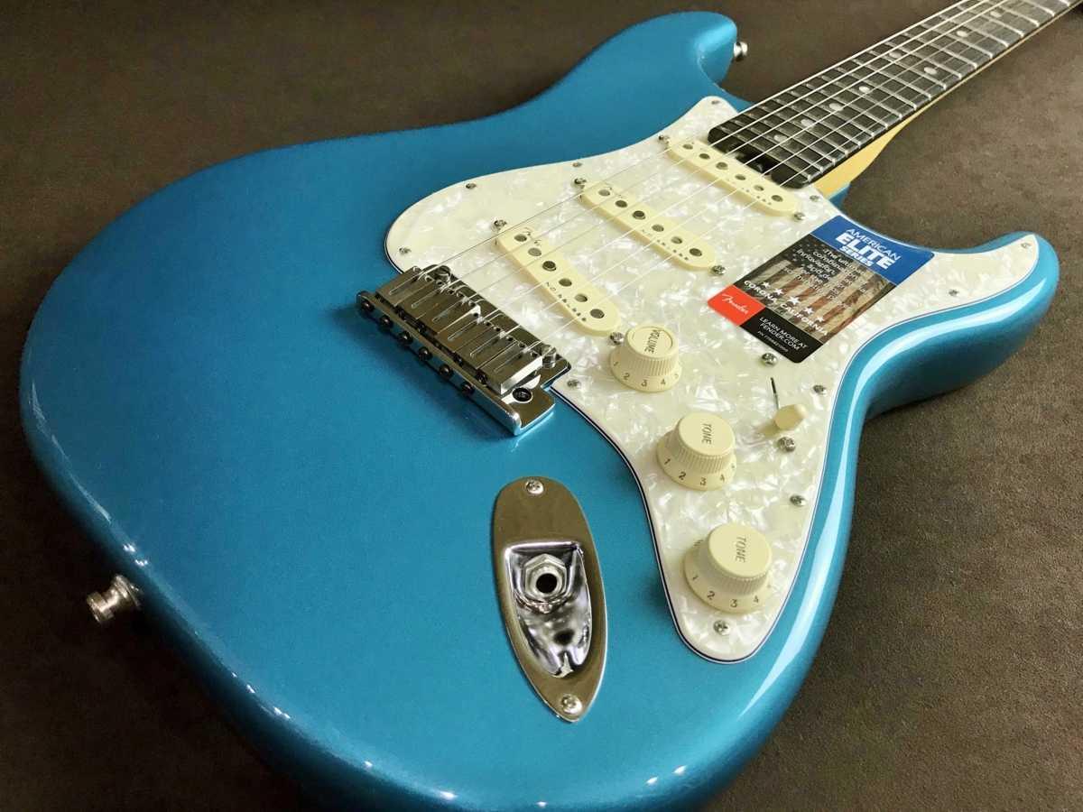 Fender USA American Elite Stratocaster Ocean Turquoise 買取