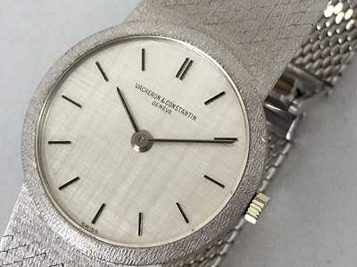 ヴァシュロンコンスタンタン買取 金無垢時計
