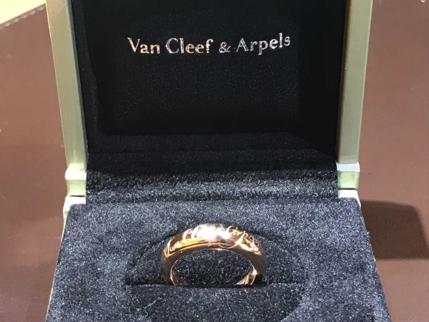 ヴァンクリーフ&アーペル買取 シニアチュールリング