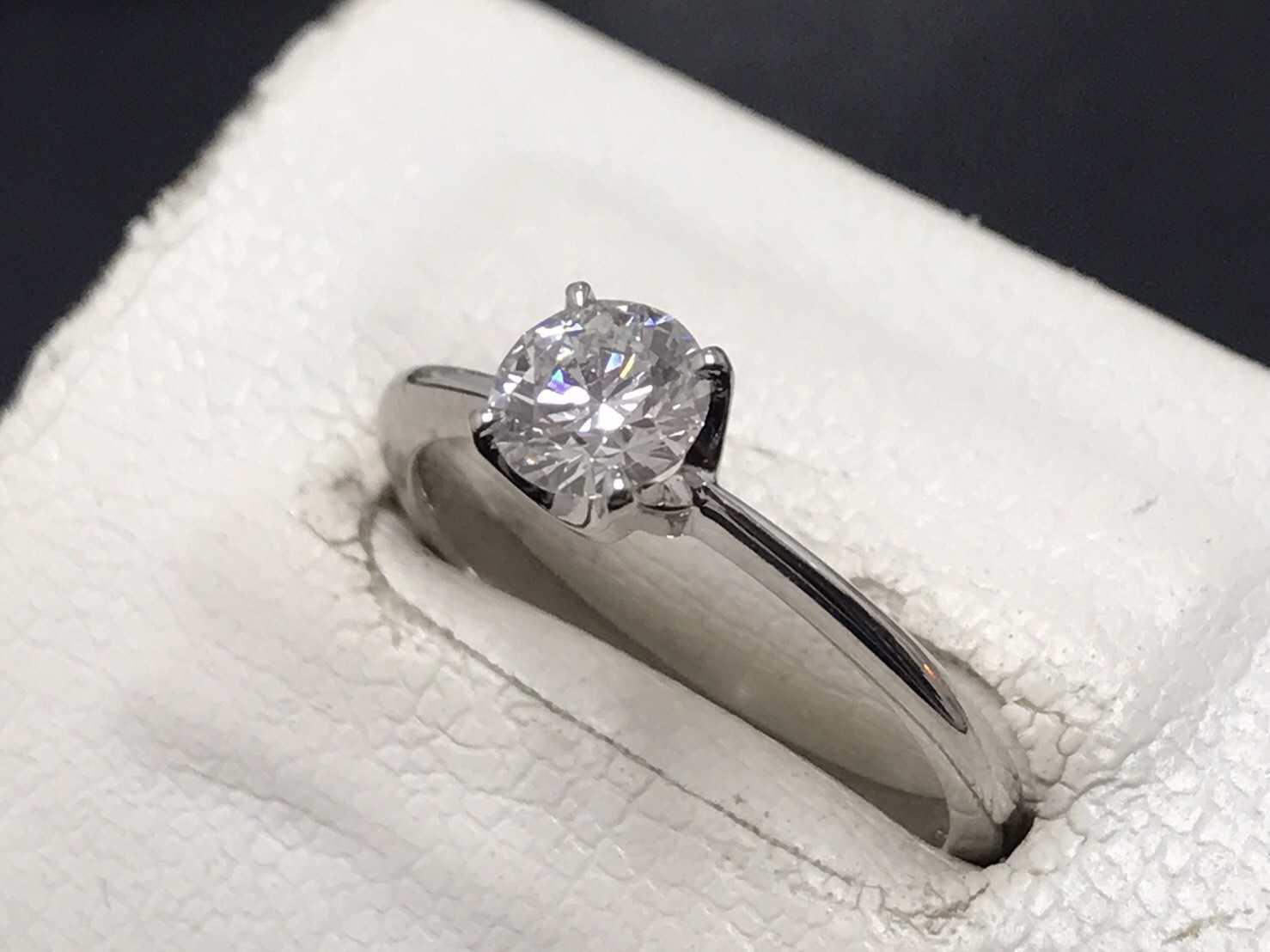 ダイヤモンド買取 0.7カラットリング