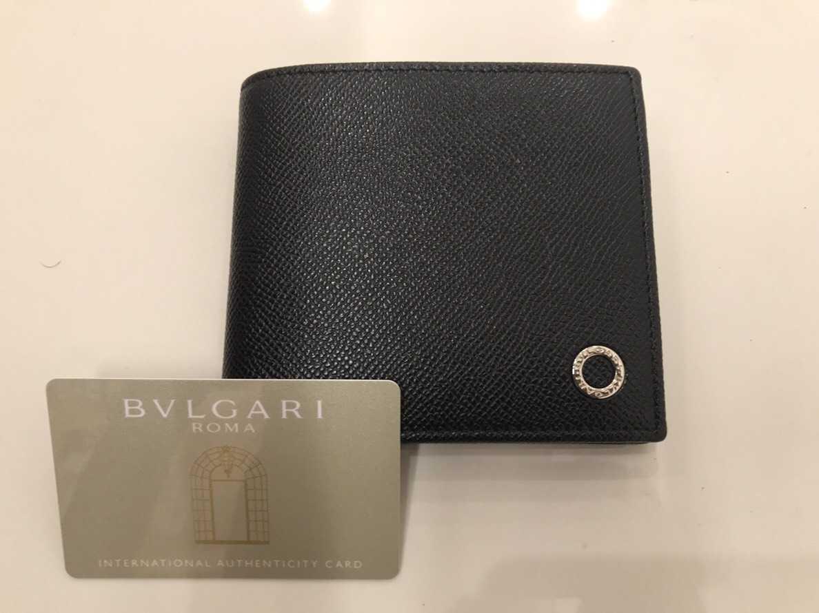 ブルガリ買取 2つ折り財布
