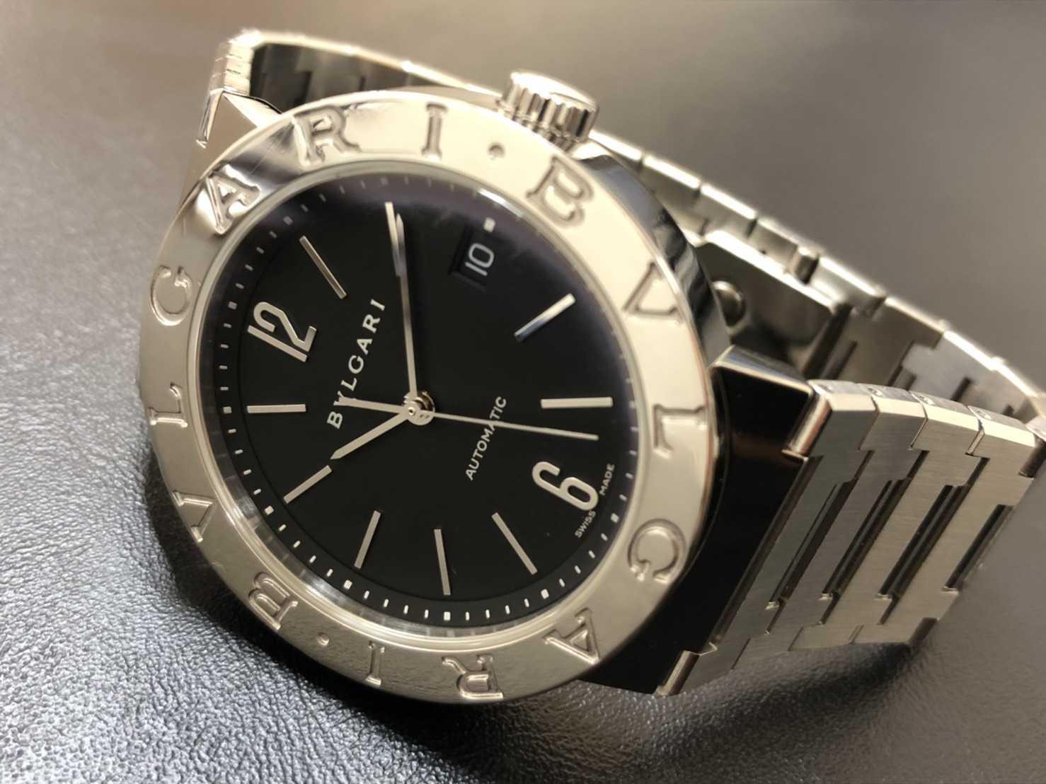 ブルガリ買取 時計 ブルガリブルガリ