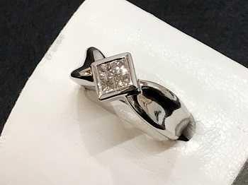 プラチナ買取 ダイヤモンドリング