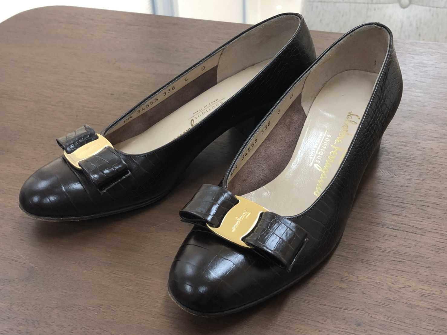 フェラガモ買取 パンプス 靴
