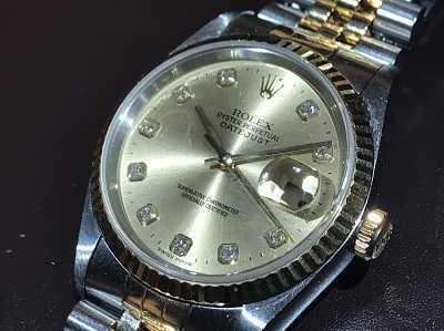 ロレックス買取 時計 デイトジャスト