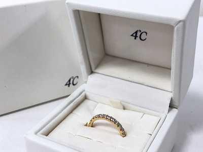 4℃買取 ダイヤモンドリング