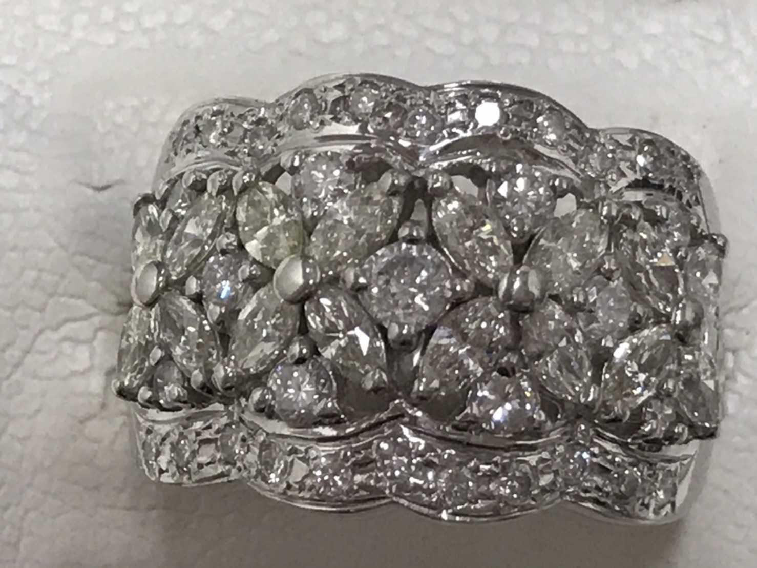 ダイヤモンド買取 プラチナ台 2.07ct リング
