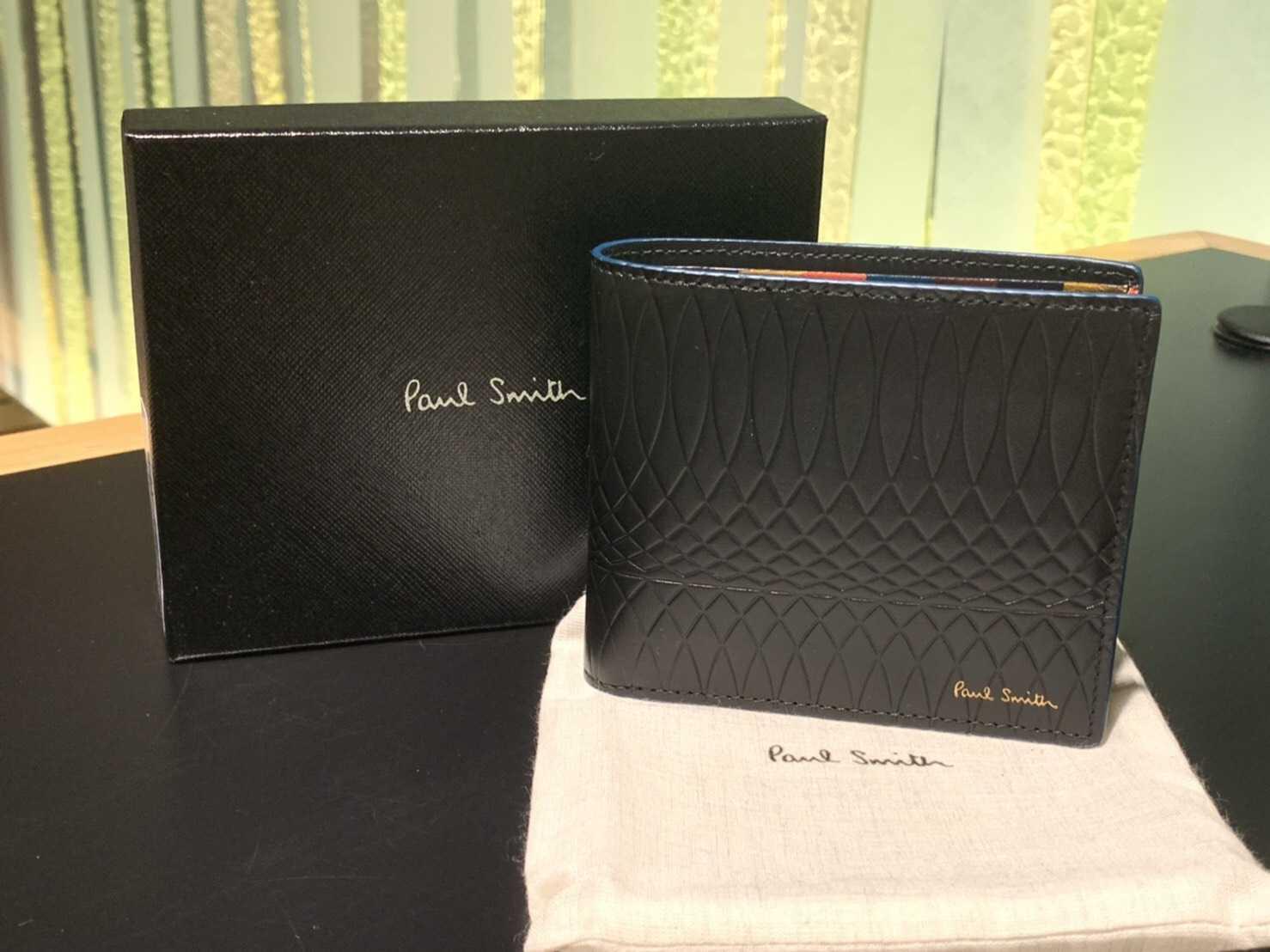 ポールスミス買取 二つ折り財布