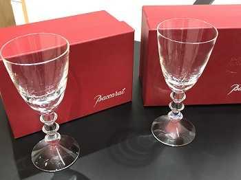 バカラ買取 ゴブレットグラス