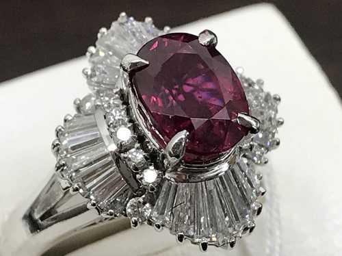 ルビー買取 指輪