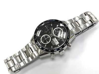 タグホイヤー買取 カレラクロノグラフ 時計