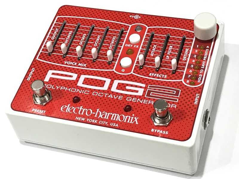 Electro-Harmonix買取 POG2