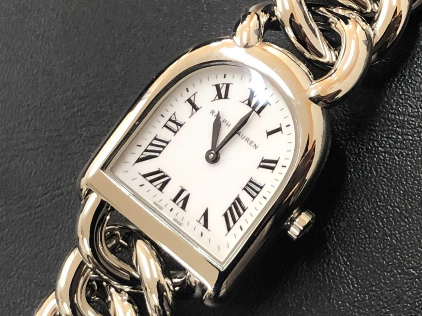 ラルフローレン買取 時計 スティラッププティリンク