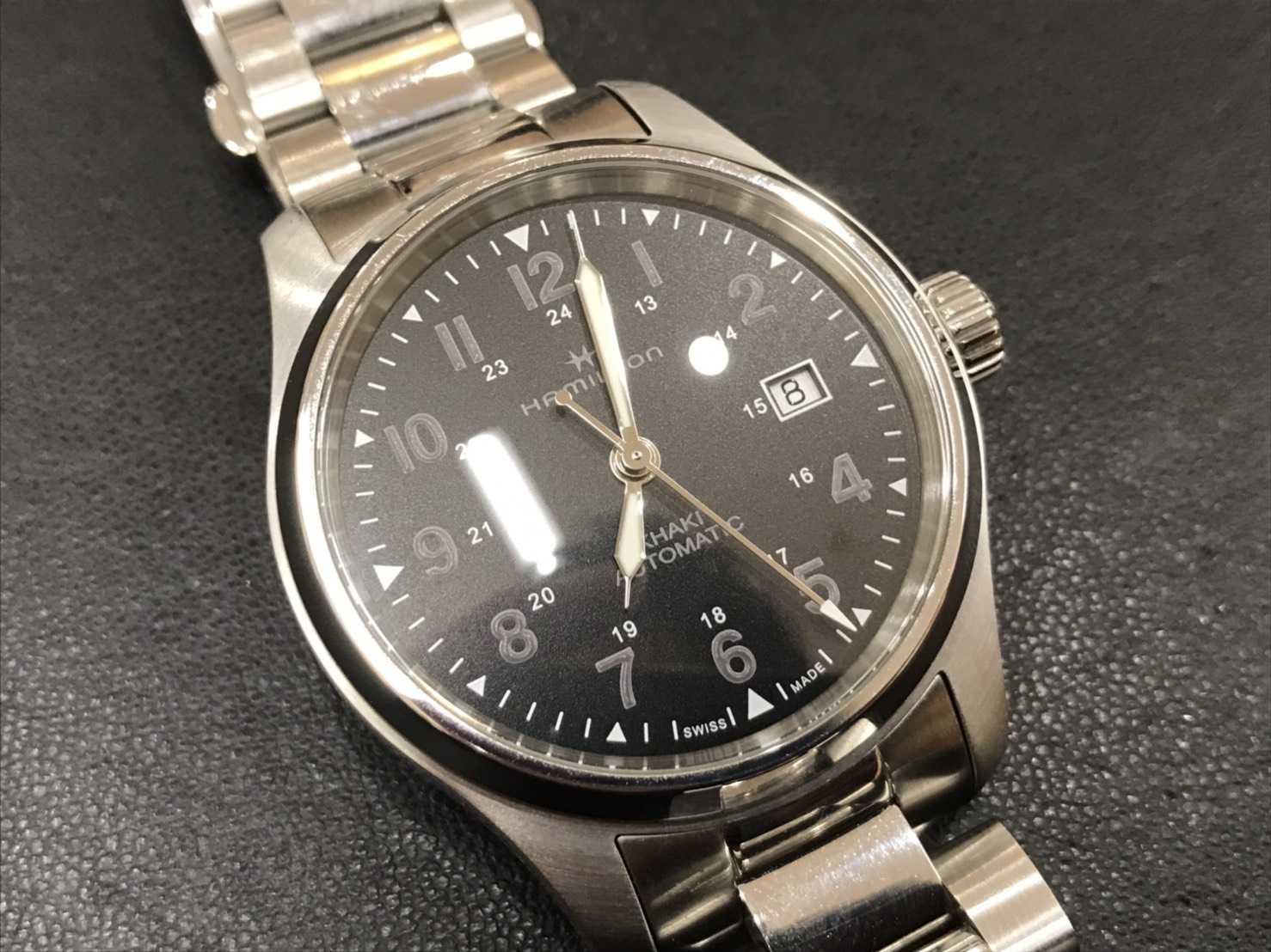 ハミルトン買取 腕時計