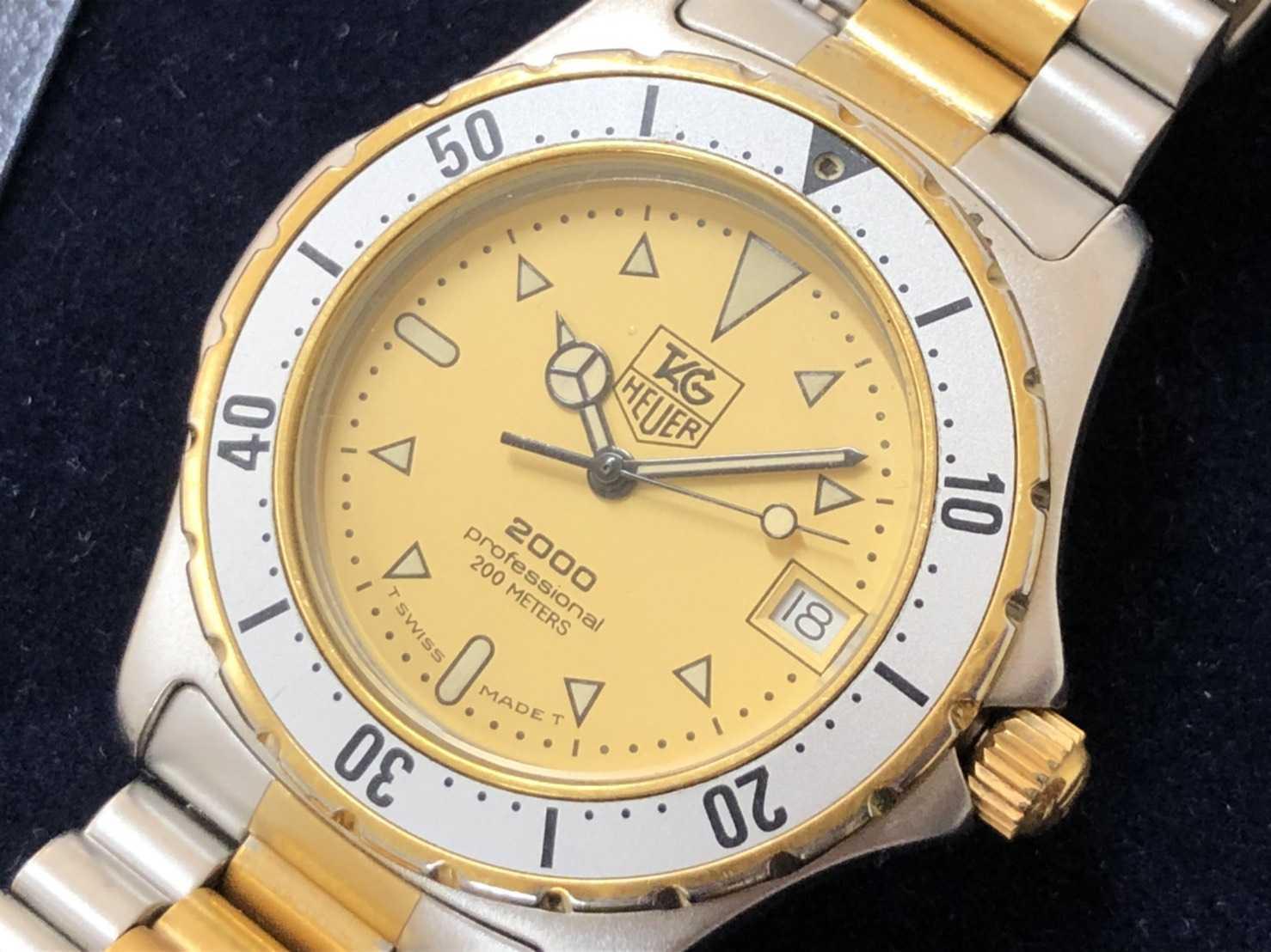 タグホイヤー買取 時計