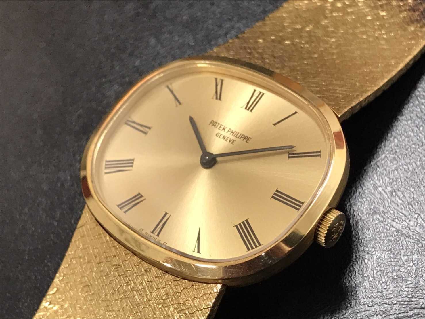 パテックフィリップ買取 古い手巻き時計