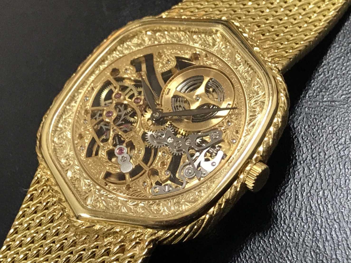オーデマピゲ買取 手巻き金無垢時計