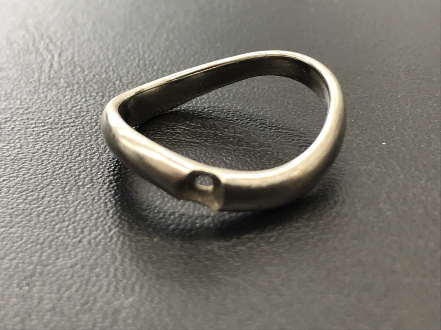 プラチナ買取 石の取れたリング