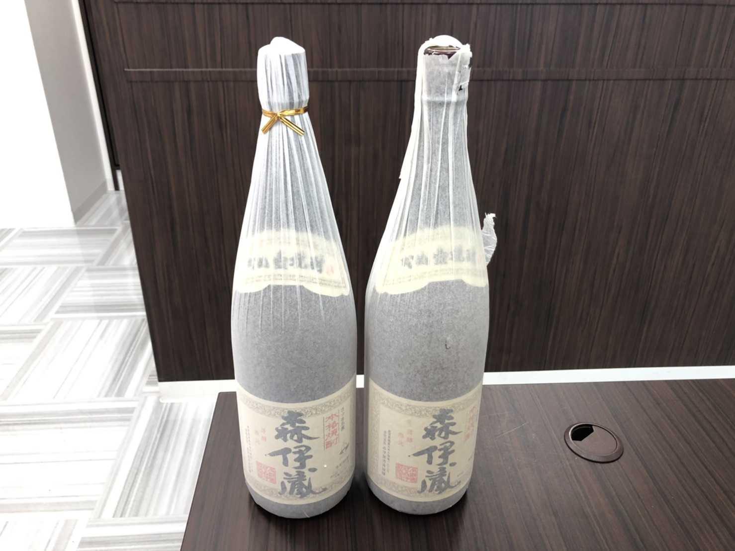 お酒買取 森伊蔵1800ML×2本