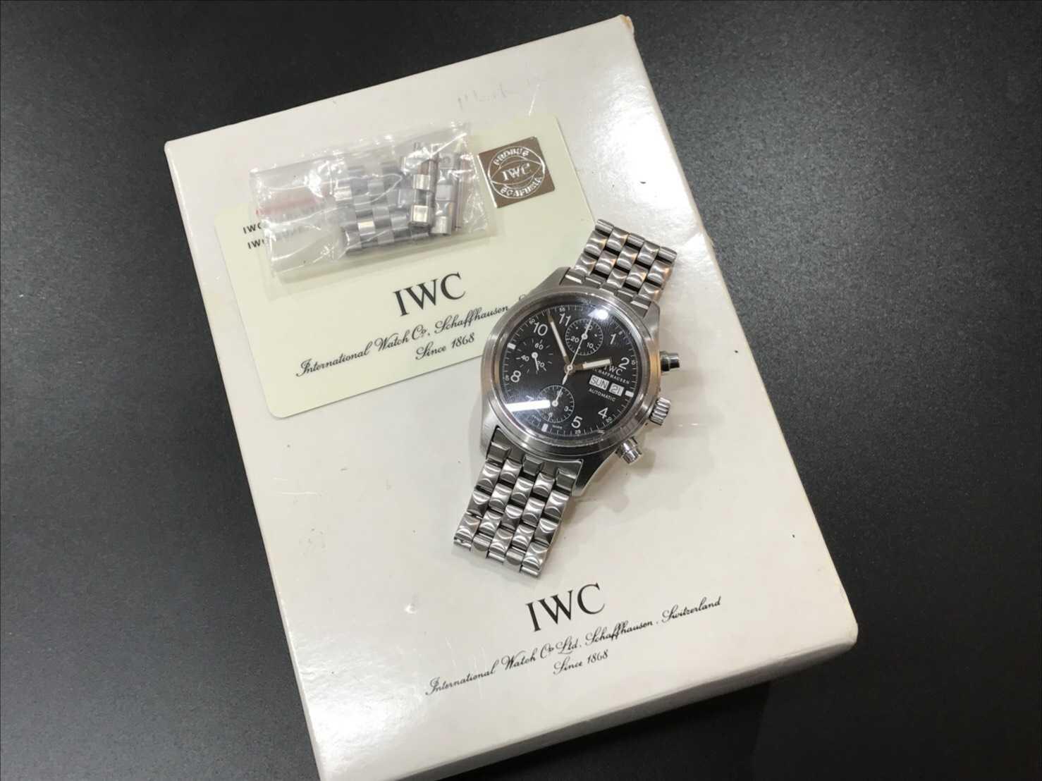 IWC買取 メカニカルフリーガークロノグラフ