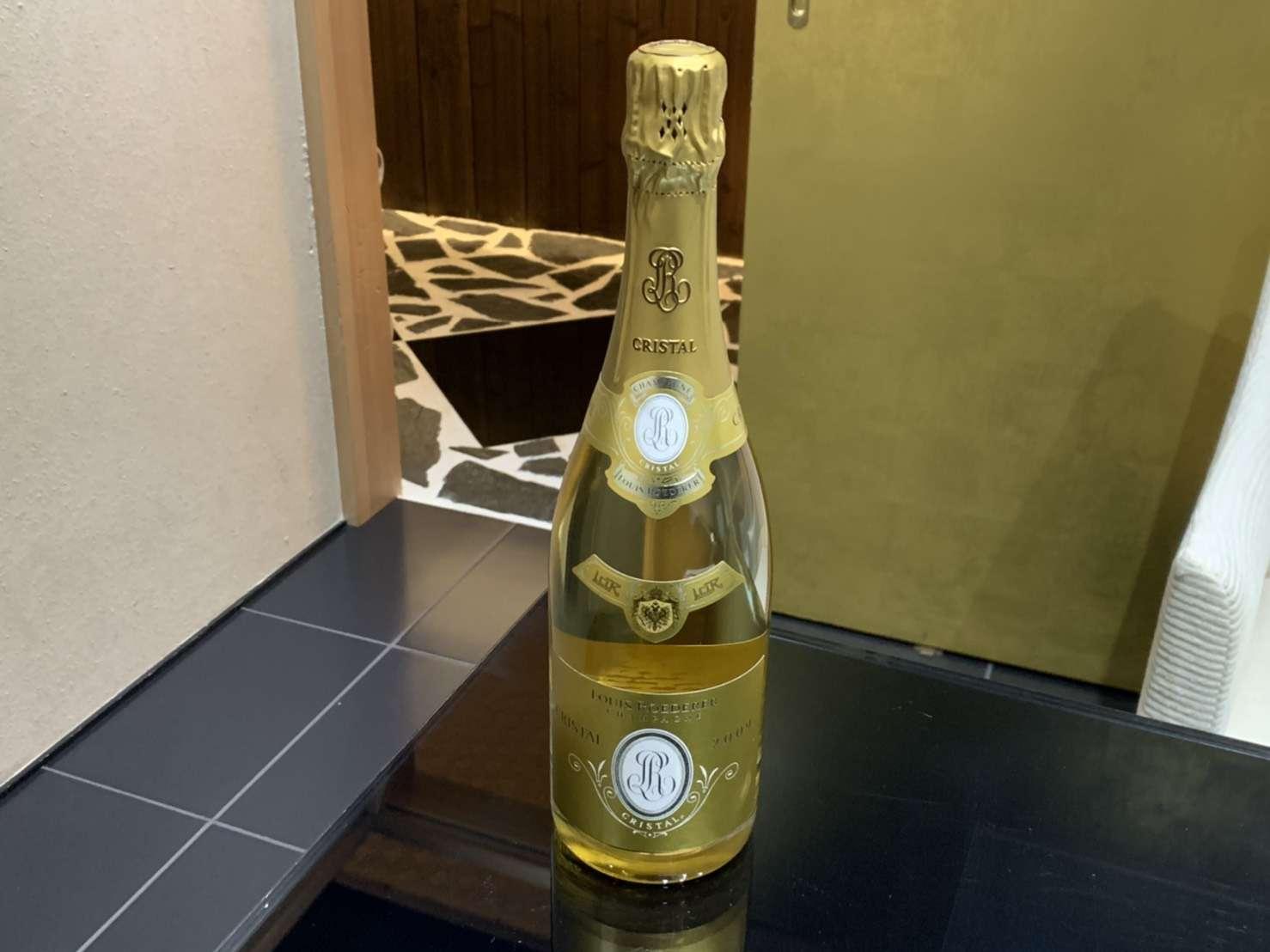 シャンパン買取 クリスタル