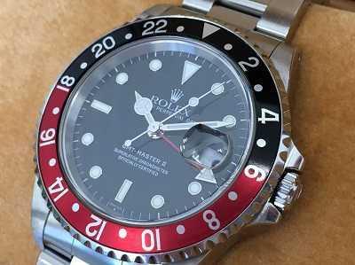 ロレックス買取 GMTマスター16710