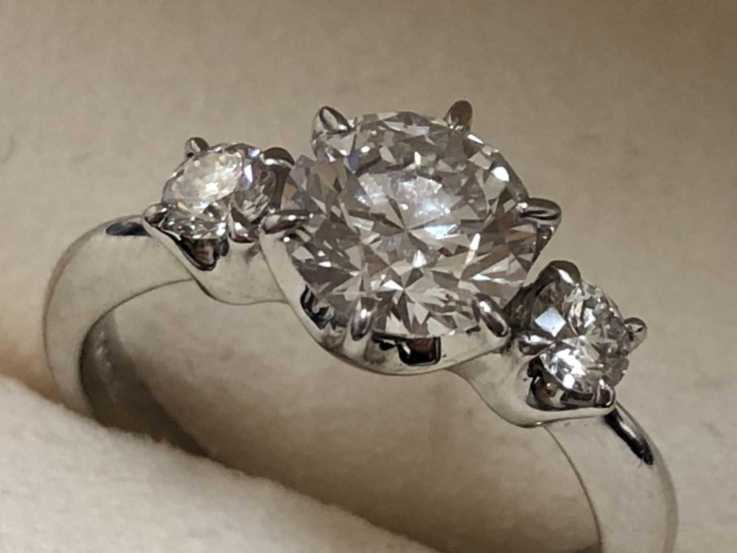 ミキモト買取 ダイヤモンドリング