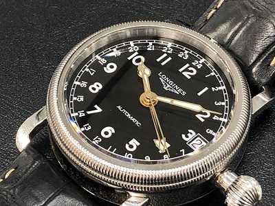 ロンジン買取 ヘリテージオーバーサイズ腕時計