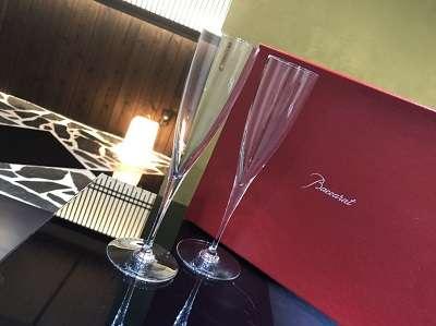 バカラ買取 シャンパンペアグラス