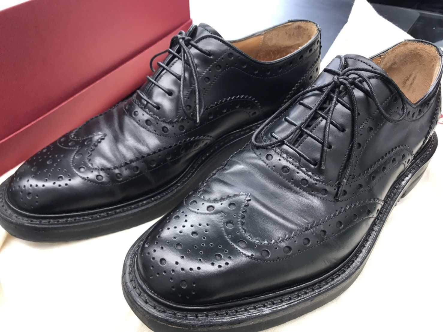 高級紳士靴買取 フェラガモ