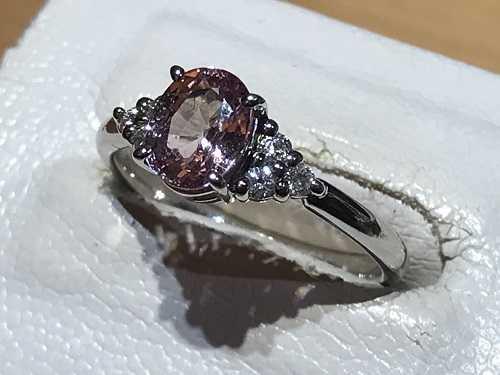 パパラチアサファイア買取 指輪
