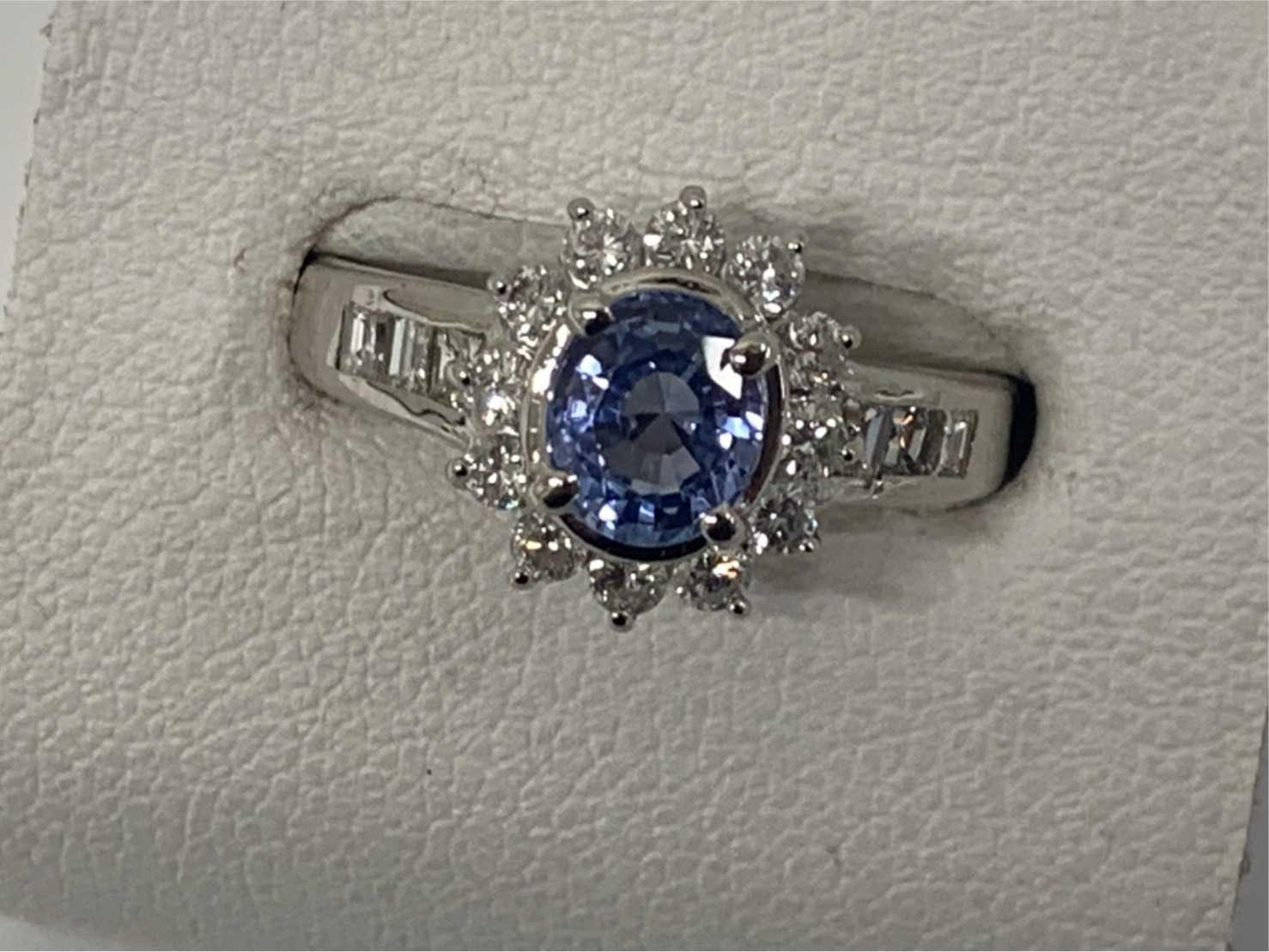 宝石買取 サファイアダイヤモンドリング