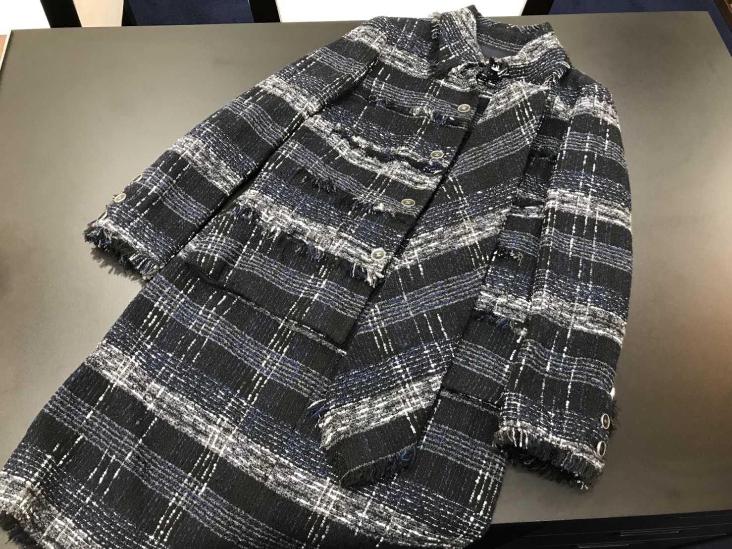 シャネル買取 ツイードスーツ