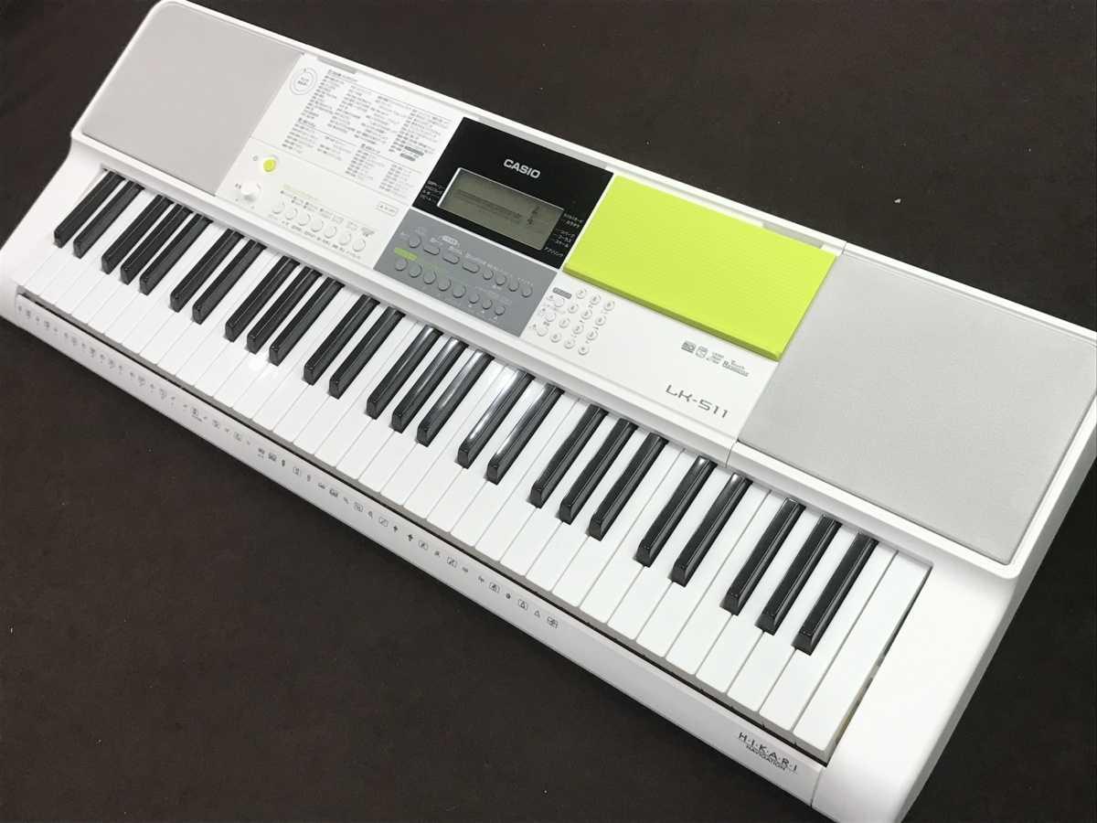 CASIO LK-511 光ナビゲーションキーボード 買取