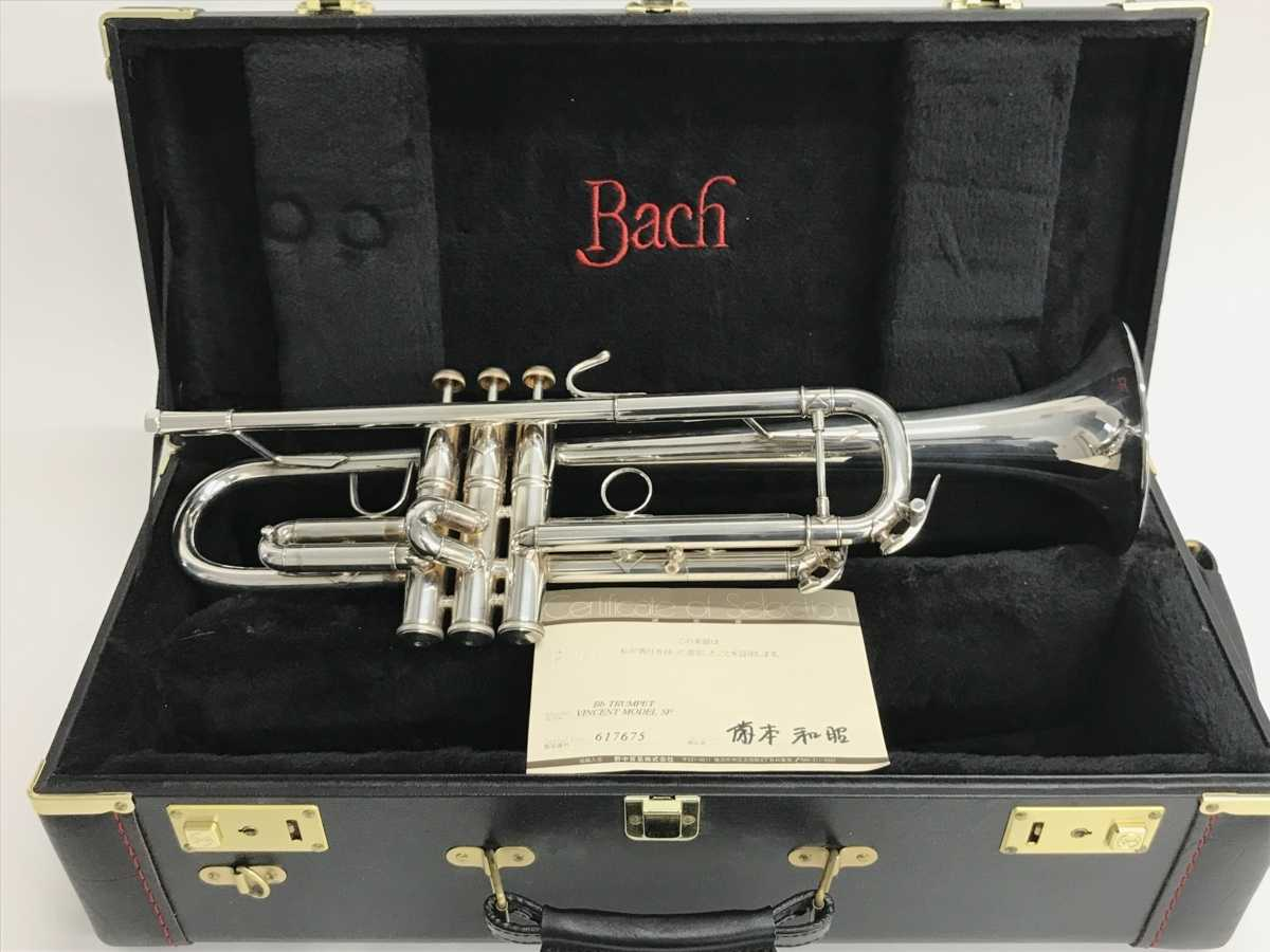 Vincent Bach Vincent Model SP トランペット 買取