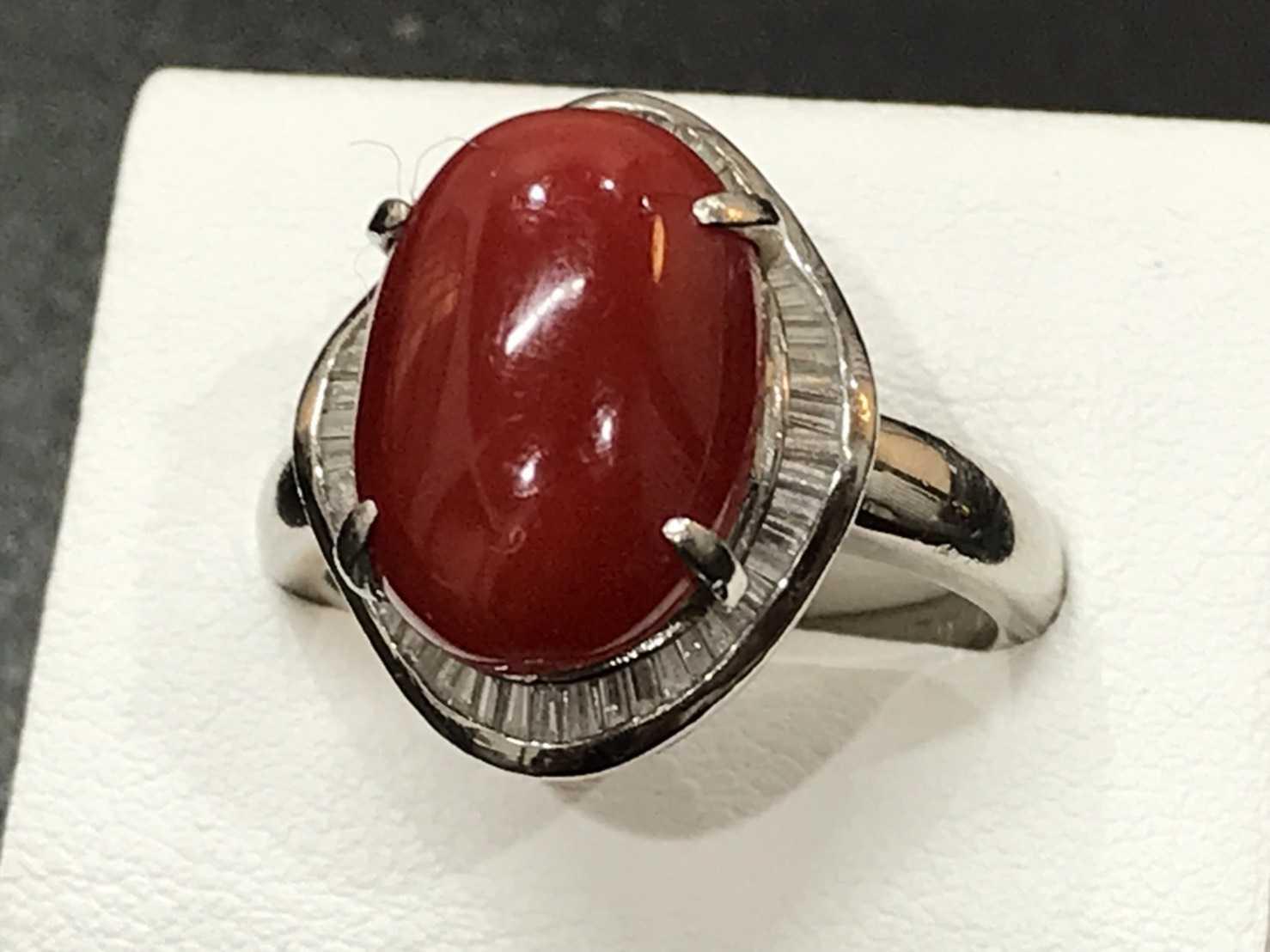 指輪買取 赤珊瑚