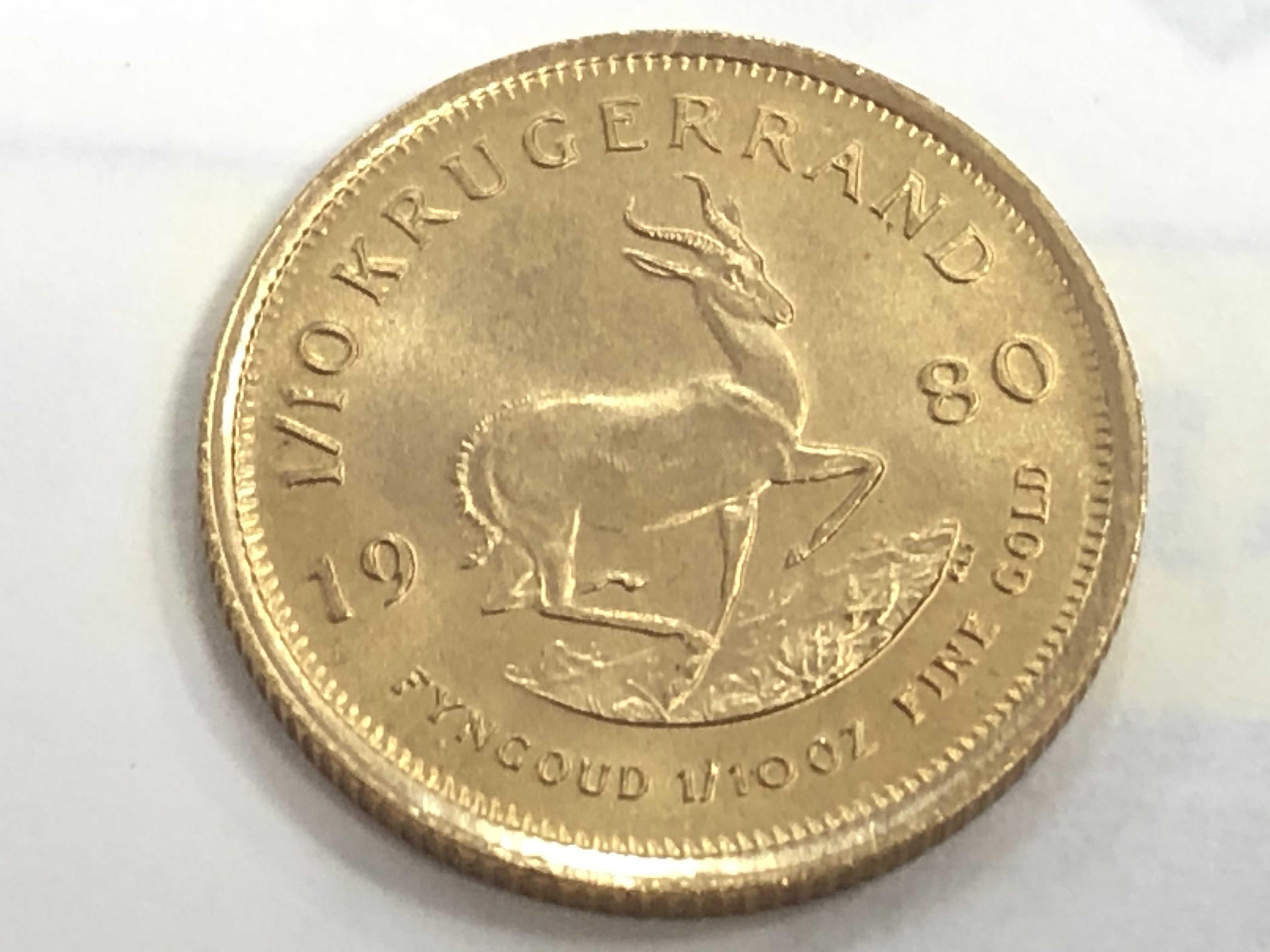 金買取 22金クルーガーランド金貨