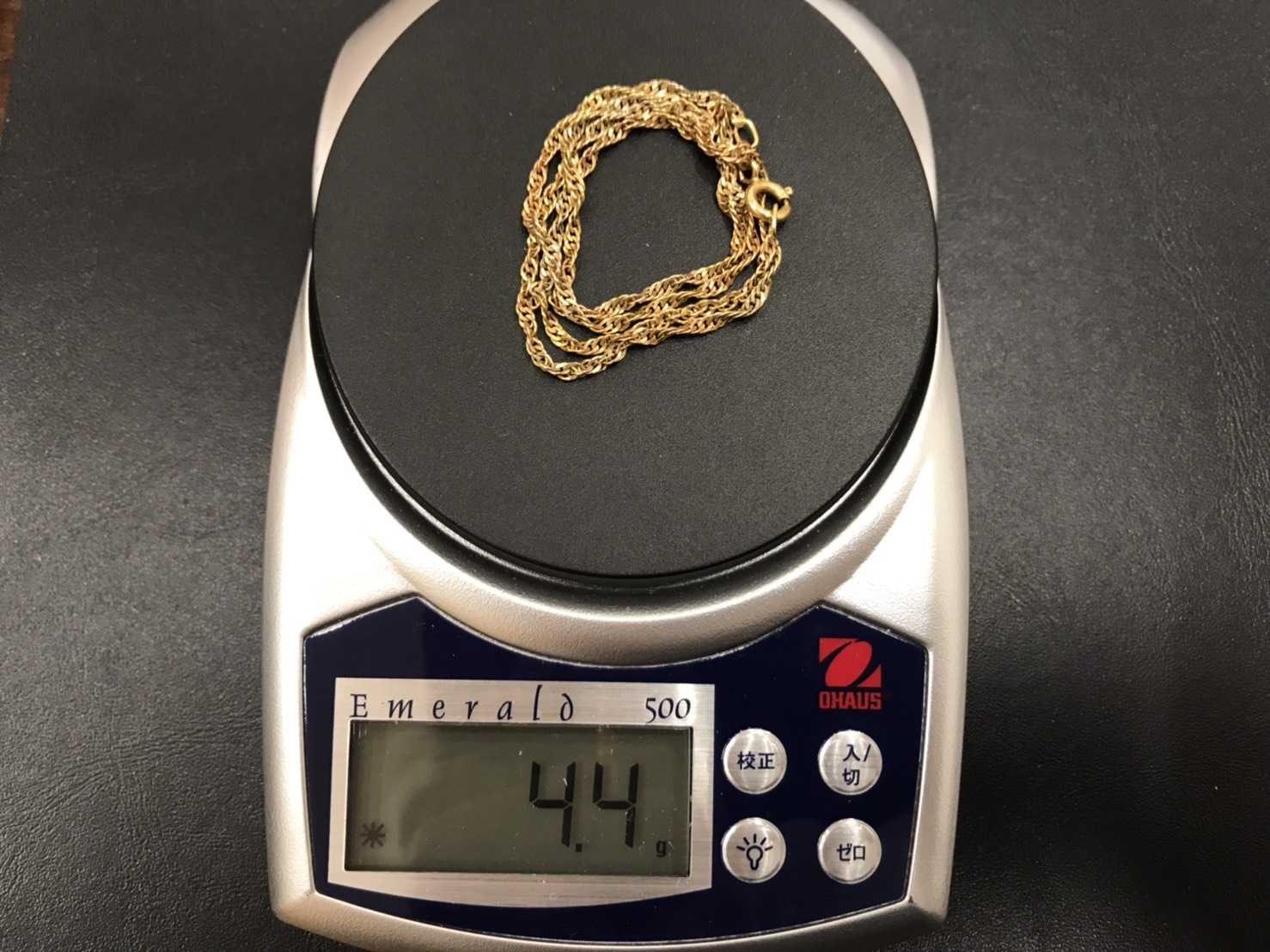 貴金属買取 K18 / 4.4g ネックレス