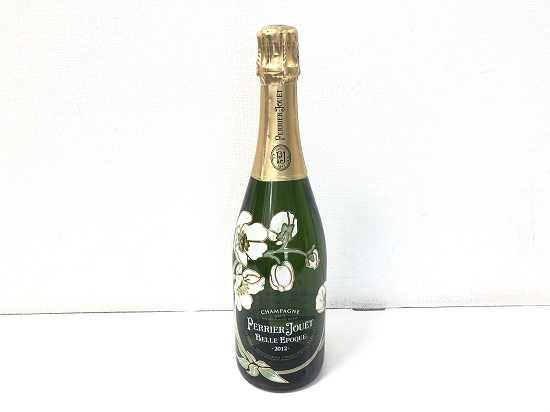 お酒買取 ペリエジェベルエポック白2012年シャンパン