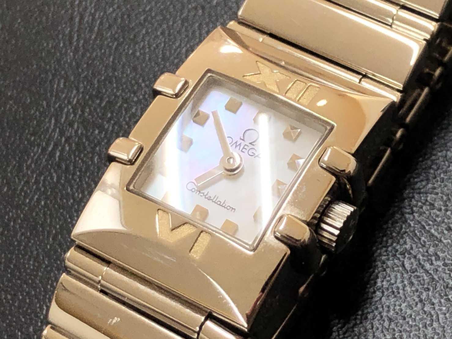 オメガ買取 時計 クアドラ