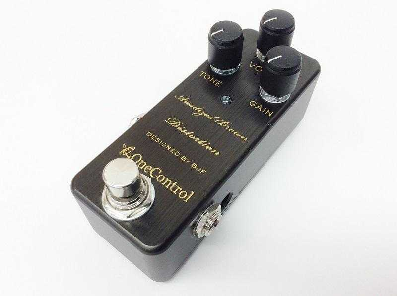 ONE CONTROL買取 Anodized Brown Distortion